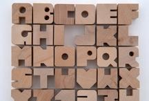 Alphabet / alfabet, litery