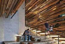 Wooden interior design / z drewna