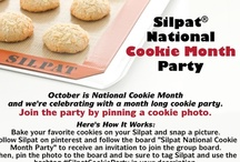 Silpat Cookie Party #SilpatCookieParty / Grab your Silpat and bake one of these delicious cookie recipes from our friends and fans. Be sure to tag Silpat and use the hashtag #SilpatCookieParty when you pin the photo. Rules: No spam, no profanity. Offensive or unrelated pins will be removed at Silpat's discretion. / by Silpat