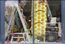 Our Shop Windows / Getting people to stop and come in is half the fun!