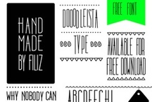 fonts resources / by Magda