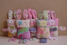 Bunny Softies. / by Sibbie
