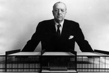 MIES VAN  DER  ROHE/ Architect