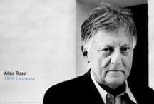 ALDO ROSSI, Architect / [ ITALY] Architectur Prize Laureate  1990 / by Zoi Grevia