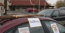 """Ideas for """"Trunk or Treat"""" / Ideas for car decorations at Halloween trunk-or-treat events."""