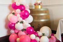 Pink POP Balloons