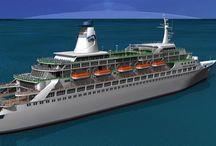 Cruise Ships / 3dart 3dmodeling 3dmodels animation
