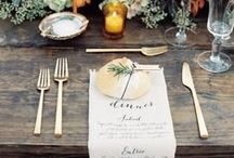 Beautiful Tablescapes / Tablescapes and Table Decor for Parties and Holidays