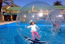 Explore Zorbing / See for yourself what it's like inside the human hamster balls !