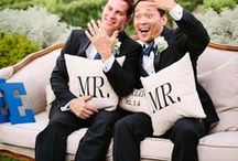 LGBTQ Weddings / Mr & Mr, Mrs & Mrs, and any other combination you can think of... love is love and weddings are for everyone