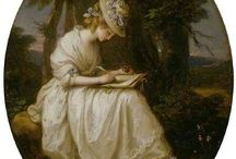 Portraits by Angelica Kauffman / In my fourth book I mention a portrait by Angelica Kauffman. Here are some examples of her work.