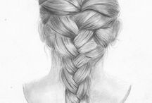 Hair-Styles to draw