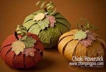 """Fall Harvest Ideas / trick or treat ideas & fall decorating / by Margie """"T""""...for TIME spent on Pinterest!!!"""