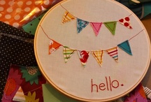 Embroidery / Embroidery patterns, ideas, tips, and inspirations.  / by Teri Stillwell