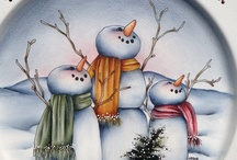 Tole painting cuteness / Decorative or Tole Painting designs.  / by Teri Stillwell