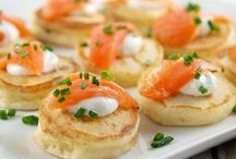 Canapes & Hors D'oeuvres / by Eva Lagudi-Devereux