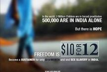 Freedom Firm: $10 FOR 12 CAMPAIGN: End Sex ~ Trafficking of Minor Girls in INDIA / JOIN Dave and Nancy Byrne and FREEDOM FIRM: Sign up to be a SUSTAINER today to donate and give $10/month for 12/months! It's easy, check it out @ www.freedom.firm.in. Click on the TAB: GET INVOLVED! Thanks! :)