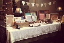 Craft Fair Display Inspiration / Inspiring display ideas for craft fair tables and booths. / by SusieDDesigns