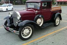 old cars and trucks / by Ron Moyers
