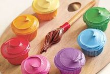 Rainbow Ideas / Rainbow party ideas including- Rainbow cakes, party ideas, food and decorations. Also perfect for an art party or St. Patrick's Day.