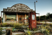 old gas stations / by Ron Moyers