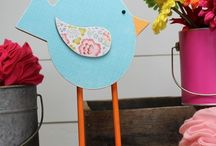 Spring Crafts and Ideas