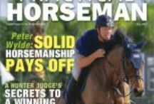 Covers / Practical Horseman magazine covers