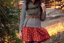 Autumn/Winter Fashion / Comfy sweet outfits for Autumn/Winter