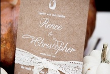 WEDDING DESIGN / Design & decorative ideas for weddings