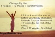 12 Week Weight Loss Program /  Change Your Life and get healthy, happy and fit