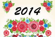 2014 / Agendas e calendários para 2014