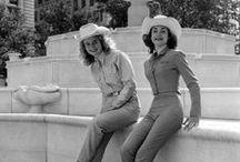 Vintage Style Inspiration / 1920s 1930s 1950s 1960s vintage fashion