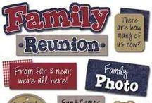 Family Reunion/Picnic / Family    Fun games         Food            Fellowship / by Joan Molloy