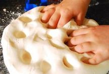 Sand/Dough Play / by Michelle Shelburne