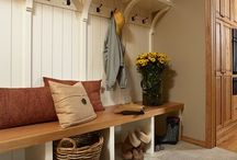 Mud Room Inspiration / by Thoughts in Vinyl = Wood Letters and Crafts and Vinyl Lettering
