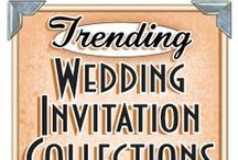 Trending Wedding Invitations / The most popular wedding invitation trends today, presented in collections for you to choose from.
