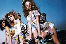 Girls on Roadbike
