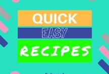 Quick & Easy Recipes / Easy and quick recipes, ranging from breakfast, lunch to dinner. Perfect for either a weekday or lazy weekends. Easy meal, comfy food :) Get a FREE recipe book today --> http://bit.ly/2vmFyNr