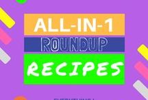 Round Up Recipes / Top 10 best recipes for breakfast, dinner and desserts.  Some are gluten-free, vegetarian friendly or vegan. No matter you are looking for the avocado brownie or best slow crock pot recipes, you can find it here. Get a FREE recipe book today --> http://bit.ly/2vmFyNr