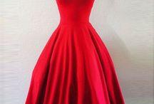 Red Short Dresses
