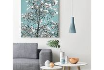Magnolia Tree - Wall Art / Abundance Creative brings the essence of nature into your everyday life through beautiful contemporary wall art.