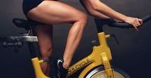 Indoor Cycling Workout / Stationary bike workouts can be incredibly effective at burning fat. ... Jennifer Tallman, indoor cycling instructor at New York Sports Clubs, tells SELF. ... Since biking is a relatively low-impact workout, these machines are ...