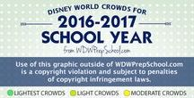 DisneyWorld Crowd Calendars