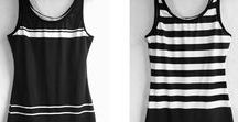 Beefcake Swimwear / Androgynous, unisex one-piece swimwear inspired by the 1920s. XS through plus sizes. Small-batch printed and sewn in USA. Queer woman owned.