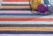 Kauniita kudonnaisia / Kudottuja mattoja, liinoja jne. Lankavan ilmaiset käsityöohjeet.
