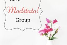 Let's Meditate!   Group Board / A group board to share ideas about meditation, mindfulness, yoga, motherhood, self-care, photography, and blogging. Family friendly pins only! Pins related to group topics only. No pin limit -> Re-pin and support each other. No Amazon or Instagram. To request to join follow this board and send me a private message via Pinterest. www.HelpMamaMeditate.com