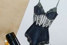 Fashion & Beauty Illustrations / My favourite illustrations drawn by myself or others