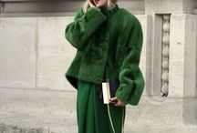 4. Colour: Green / Styling the colour #Green inspo