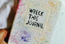 ||Wreak this journal|| / I wanna do this All things❤️❤️✏️✏️✒️✒️