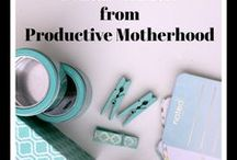 **Featured Posts from ProductiveMotherhood.life** / This board contains tutorials and blogging tips from ProductiveMotherhood.life